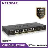 Netgear GS310TP 8 Port Gigabit Ethernet PoE+ Smart Managed Pro Switch