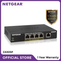 Netgear GS305P Gigabit Switch 5 Port Garansi 1 Tahun