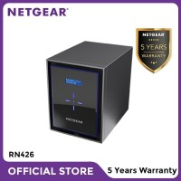 Netgear RN426 NAS Network Storage Desktop 6 Bay Server Backup
