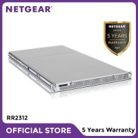 Netgear RR2312 NAS Network Storage 1U Rackmount 12 Bay Server Backup