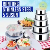 RANTANG STAINLESS 5 SUSUN | PROTECT FRESH BOX