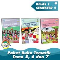 Paket Buku Tematik Kelas 1 Tema 5,6,7 K.13 Edisi Revisi 2017