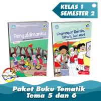 Paket Buku Tematik Kelas 1 Tema 5,6 K.13 Edisi Revisi 2017