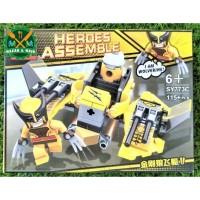 SY773C Mainan Anak Lego Action Figure Wolverine Dari Marvel Superhero