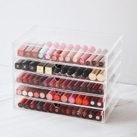 HOT SALE 5 Drawer Box - Acrylic Makeup Organizer terjamin