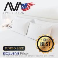 bantal tidur hotel murah silicon AVA / silikon lebih bagus dari dacron