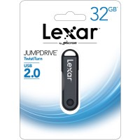 Lexar 32GB JumpDrive TwistTurn USB 2.0 For Window and Mac