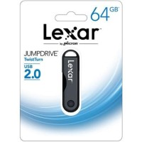 Lexar 64GB JumpDrive TwistTurn USB 2.0 For Window and Mac