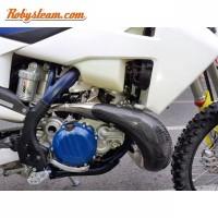 Exhaust pipe carbon atau pelindung knalpot carbon ktm dan husq