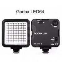 Godox LED Video Light 64 Vlog Universal Smartphone Lampu Hp Mini foto