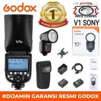 Godox V1S Flash V1 Sony Kit Speedlite Lampu Strobis Lighting Studio