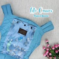 Paket CuddleMe LiteCarrier-Teethingpad&footstrap motif puss in boot