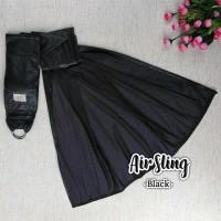 Cuddleme Gendongan Airsling / gendongan sling Warna Black