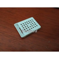 Embedding Cassette Tissue Cassettes Round Hole Without Cover 1Pack 500