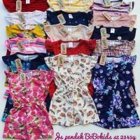 JUMPSUIT PENDEK BOBOKIDS/BAJU ANAK PEREMPUAN/KAOS BABY GIRL