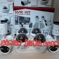 PAKET CCTV 8CHANEL NVR KIT WERELESS 3MP 1080P TGGL PSNG