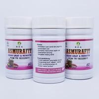 Asmurafit EZA 60 Kapsul Herbal Menagatasi Asamurat Sudah POM