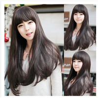 Wig Wanita Model Panjang Lurus