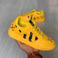Sneaker Wanita Nike Air Force 1 Simbol X- Kuning