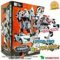 TOBOT evolution Y Shield-on transforming Robot original Young Toys