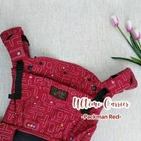 UltimoCarrier Cuddleme Motif Pacman Red