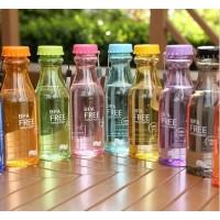 Botol Minum Soda Clear BPA Free Anti Tumpah - 500 ml