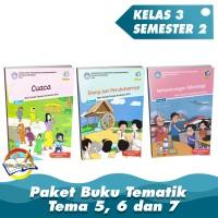 Paket Buku Tematik SD Kelas 3 Tema 5,6 dan 7 K.13 Revisi 2018