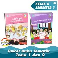 Paket Buku Tematik Kelas 4 Tema 1 dan 2 K.13 Edisi Revisi 2017
