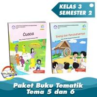 Paket Buku Tematik SD Kelas 3 Tema 5 dan 6 K.13 Revisi 2018