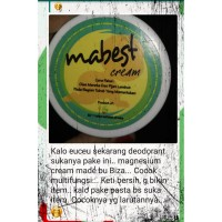Mabest Magnesium Cream for baby 13gr