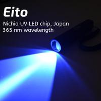 Eito - Senter UV Torch - 365 nm - Japan Nichia UV LED - NDT - Mineral
