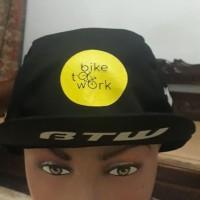 cycling cap / topi sepeda bike to work