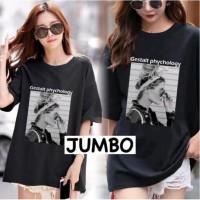 Damai fashion jakarta - baju atasan KAOS JUMBO - big size GESTALT 3 wa