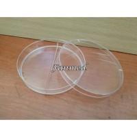 Media Tumbuh Sel / Disposable Petri Dish 2 Room Cawan Petri 90x15 mm