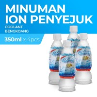Coolant Bengkoang Botol 350 Ml x4