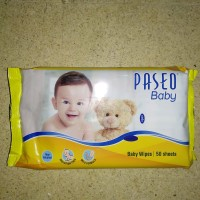 PASEO BABY WIPES ISI 50 SHEETS