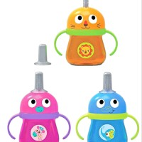 Baby Safe AP007 Training Cup With Straw Botol Minum Sedotan 125 m