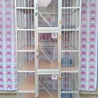 Kandang Kucing Alumunium Tipe KKC03L (90x60x180Cm)