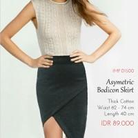 Rok - Asymetric Bodycon Skirt