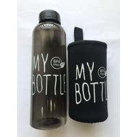 Botol Minum MY BOTTLE Infused Water 1000 ML free Pouch