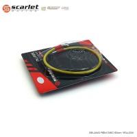 Sale Scarlet racing selang rem motor ukuran 60cm yellow Murah
