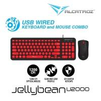 Keyboard Mouse Alcatroz JellyBean U2000 - Alcatroz U2000 JellyBean