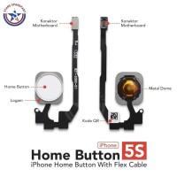 TERMURAH Flexible Home Button iphone 5S Home Tombol Fingerprint -