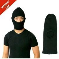 Masker Ninja Rajut 1 Lubang - Topi Kupluk Sebo