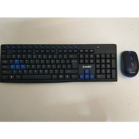 Keyboard mouse wireless Banda W400