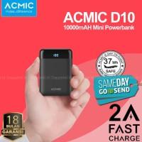 Power Bank ACMIC D10 10000mAh Mini Powerbank Fast Charging 10000 mAH