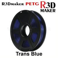 R3Dmaker Filamen 3D Printer Filament PETG Trans Blue 1.75mm 1.0 kg