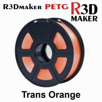 R3Dmaker Filamen 3D Printer Filament PETG Trans Orange 1.75mm 1.0 kg