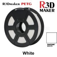 R3Dmaker Filamen 3D Printer Filament PETG Solid White 1.75mm 1.0 kg