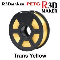 R3Dmaker Filamen 3D Printer Filament PETG Trans Yellow 1.75mm 1.0 kg